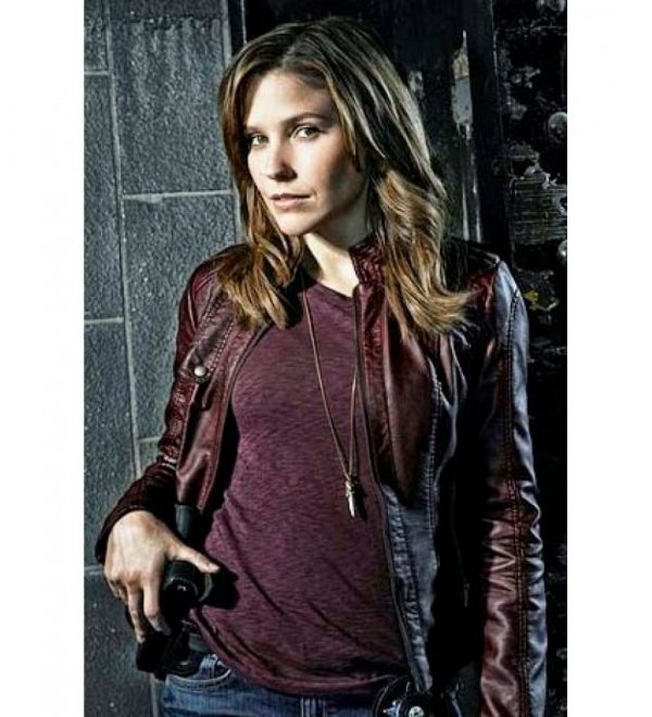 Chicago Pd Sophia Bush Leather Jacket-0