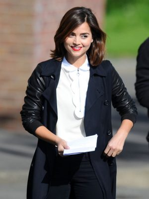 Clara Oswald Doctor Who Black Trench Coat