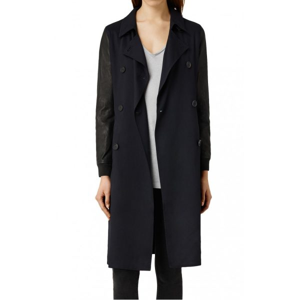 Doctor Who Clara Oswald Season 9 Black Coat