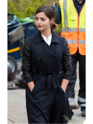 Doctor Who Season 9 Clara Oswald Coat-0