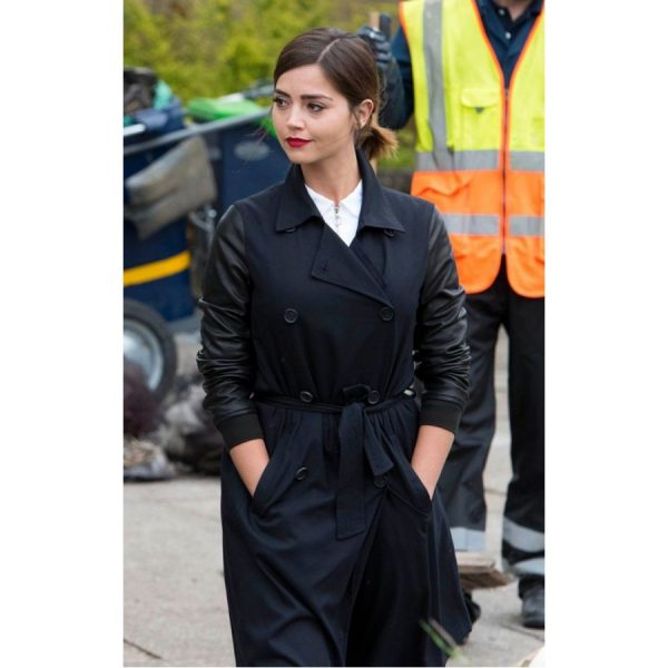 Doctor Who Season 9 Clara Oswald Coat-0