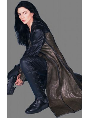 Aeryn Sun Farscape Brown Trench Coat
