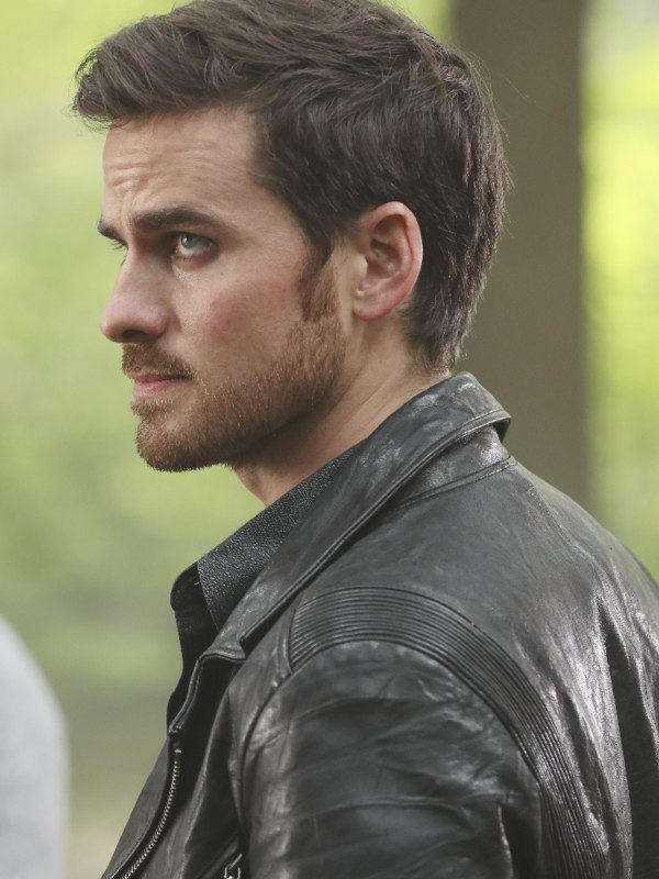 Captain Hook Black Leather Jacket
