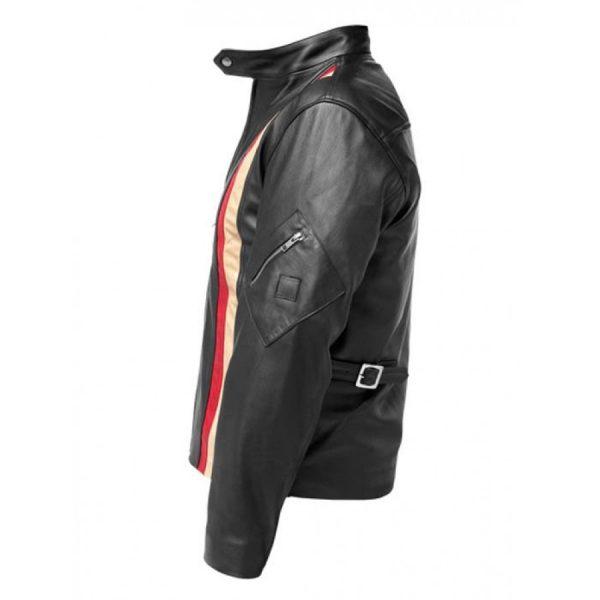 Scott X-Men 3 Black Motorcycle Leather Jacket
