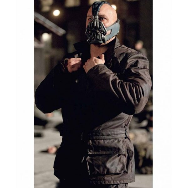 Bane Black Leather Jacket