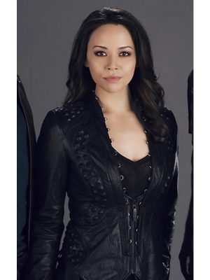 Dark Matter Melissa O'Neil Leather Jacket-0