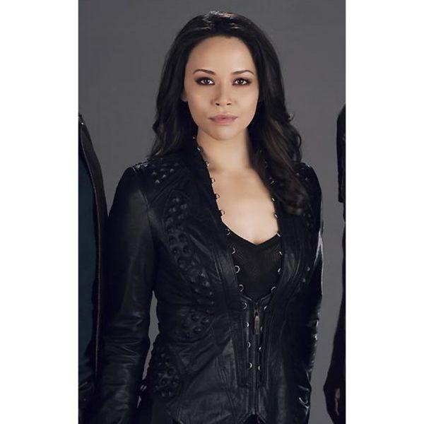 Dark Matter Melissa O'Neil Leather Jacket-0