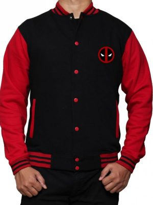 Deadpool Varsity Jacket-0