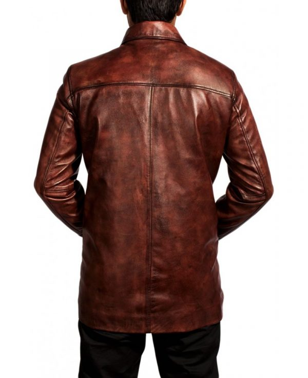 Tuvia Bielski Leather Jacket
