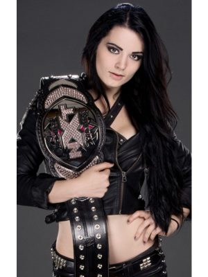 Diva Paige AKA Britani Knight Black Leather Jacket-0