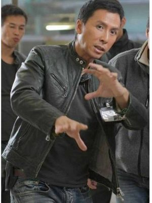 Flash Point Donnie Yen Leather Jacket-0