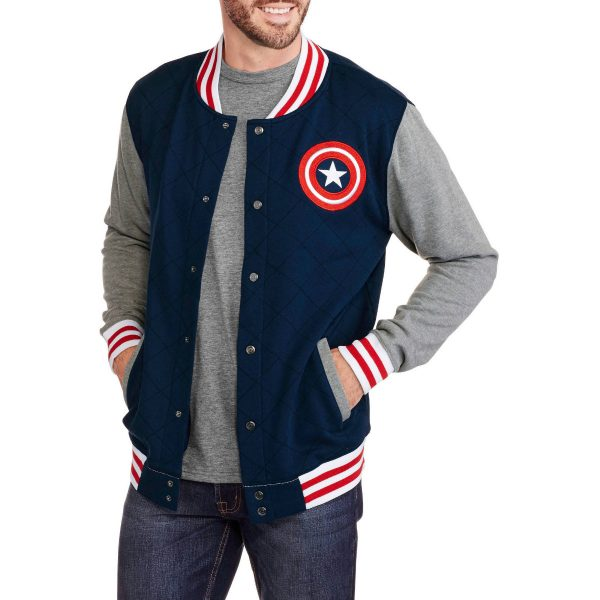Captain America Varsity Jacket-0
