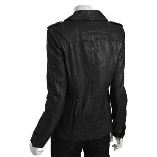 Elizabeth Mitchell Revolution Rachel Matheson Leather Jacket