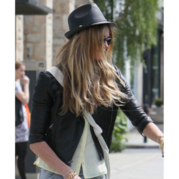 Elle Macpherson Biker Jacket