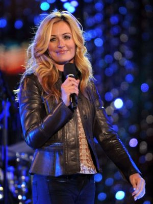 Cat Deeley Escape To Total Rewards Brown Jacket