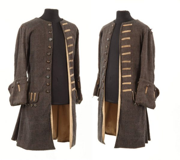 Pirates of The Caribbean Captain Jack Sparrow Trench Coat