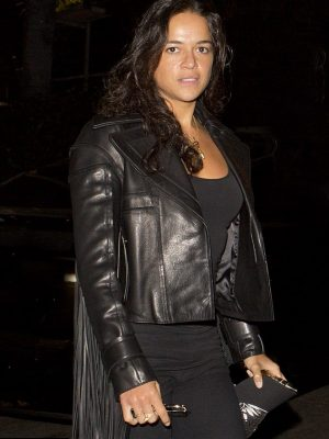 Fast and Furious 7 Michelle Rodriguez Jacket -0