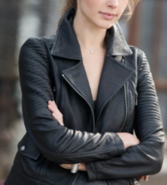 Gisele Harabo Fast And Furious 6 Gal Gadot Leather Jacket-0