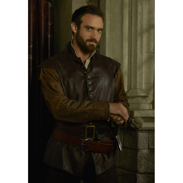 Joshua Sasse Galavant Leather Vest-0