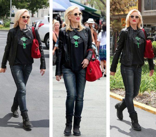 Gwen Stefani Black Jacket