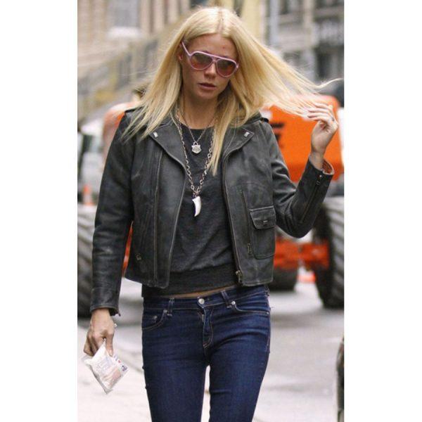 Gwyneth Paltrow Distressed Jacket