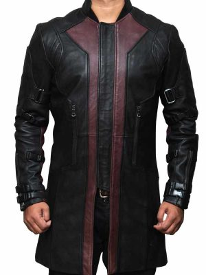 Jeremy Renner The Avengers Age of Ultron Hawkeye Coat