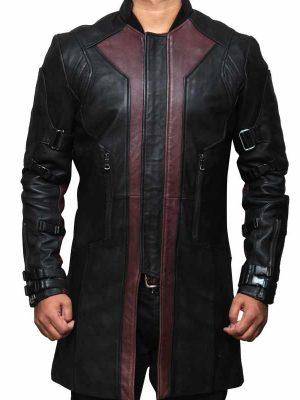 Jeremy Renner The Avengers Age of Ultron Hawkeye Coat