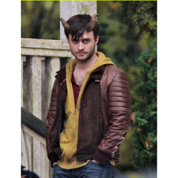 IG Perrish Horns Daniel Radcliffe Leather Jacket-0