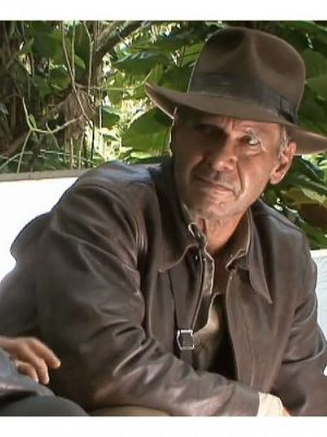 Brown Indiana Jones Leather Jacket
