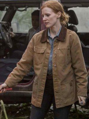 Jessica Chastain Film Interstellar Jacket-0