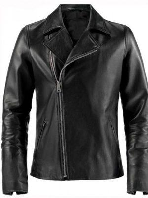Johnny Blaze Ghost Rider Black Leather Jacket