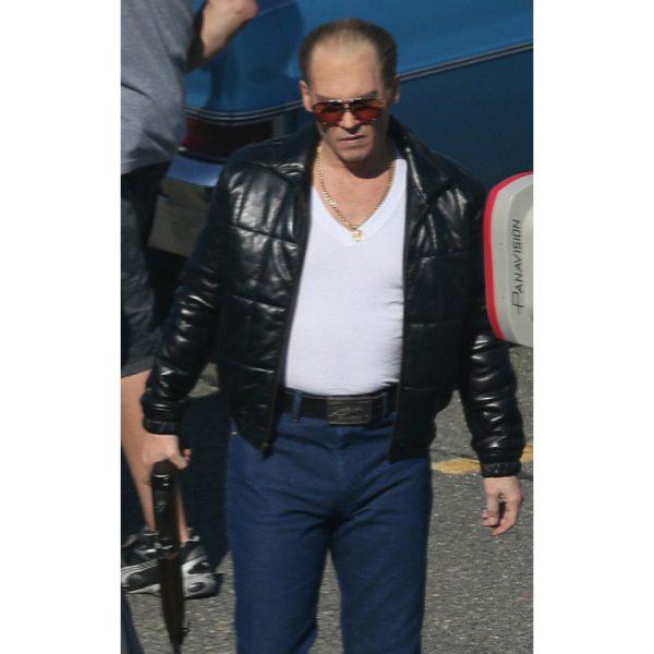 Black Mass Johnny Depp Black Jacket