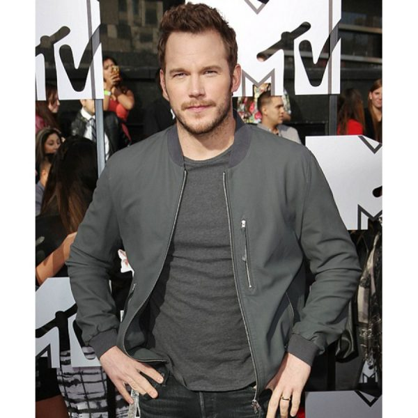 Owen Jurassic World Chris Pratt Leather Jacket-0