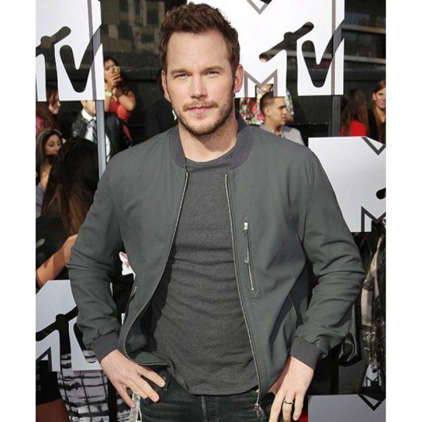 Owen Jurassic World Chris Pratt Leather Jacket-0