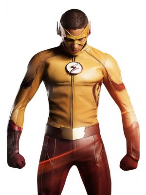 The Flash Season 3 Kid Flash Jacket-0