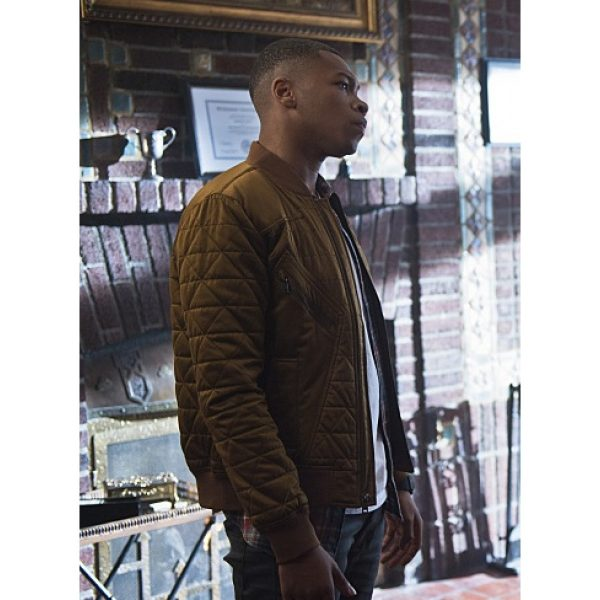Franz Drameh Legends of Tomorrow Quilted Jacket