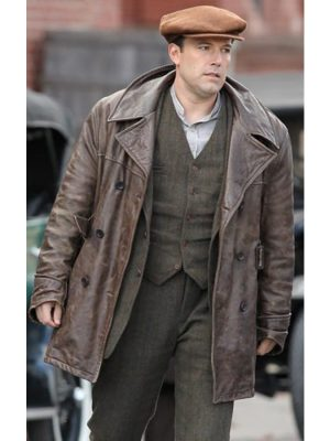 Live By Night Joe Coughlin Leather Jacket