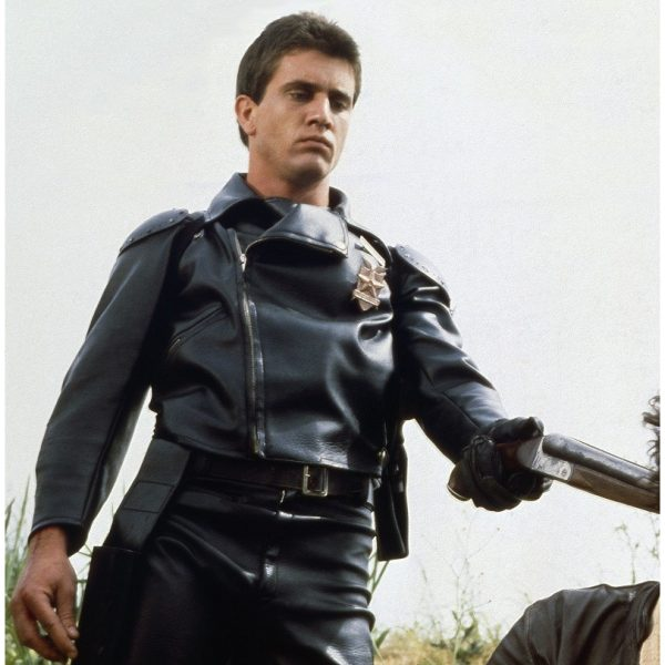 Rockatansky Mad Max Black Leather Jacket-0
