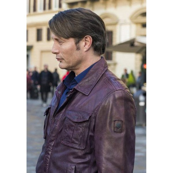 Hannibal Mads Mikkelsen Brown Jacket