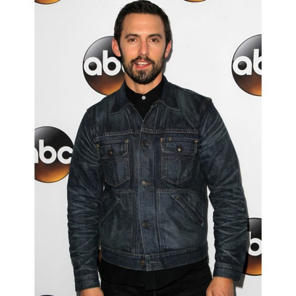 Milo Ventimiglia The Whispers John Doe Denim Jean Jacket-0