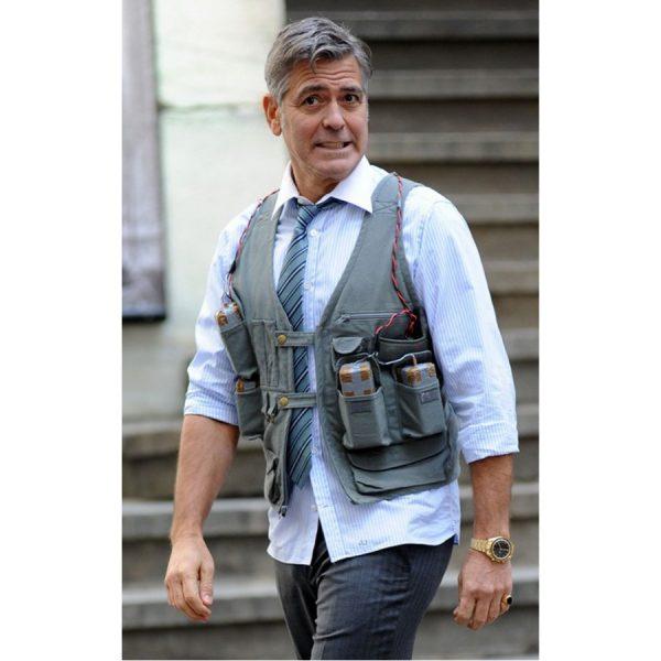 George Clooney Money Monster Cotton Vest