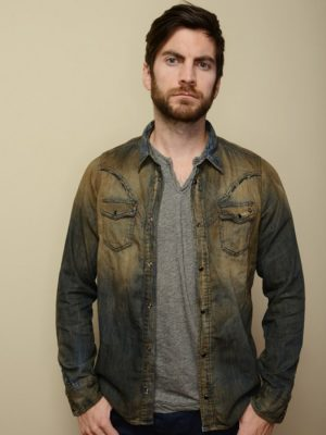 Wes Bentley The Better Angels Denim Jacket
