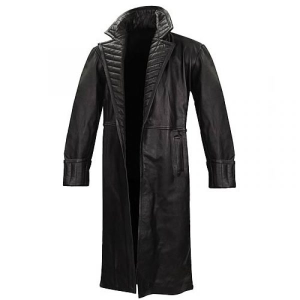 The Avengers Black Trench Coat