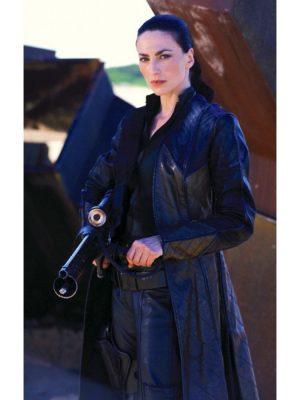 Claudia Black Farscape Officer Aeryn Sun Coat-0