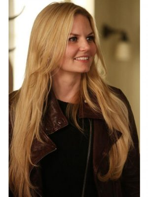 Once Upon a Time Jennifer Morrison Biker Jacket
