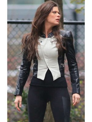 Cara Coburn The Tomorrow People Peyton List Jacket-0