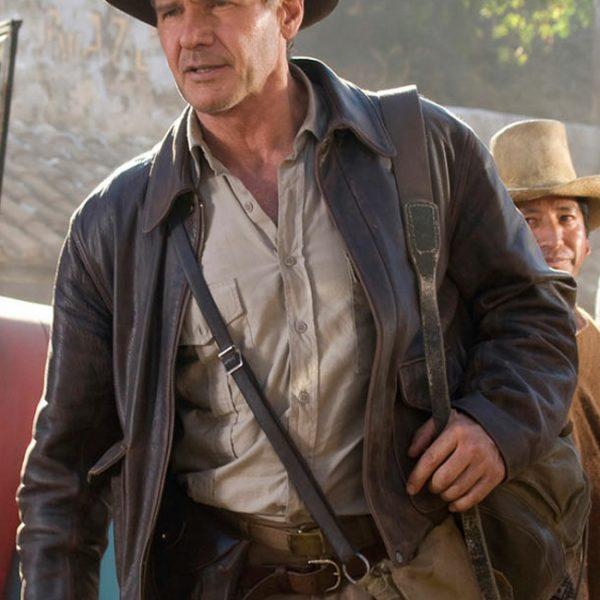 Indiana Jones Leather Jacket-0