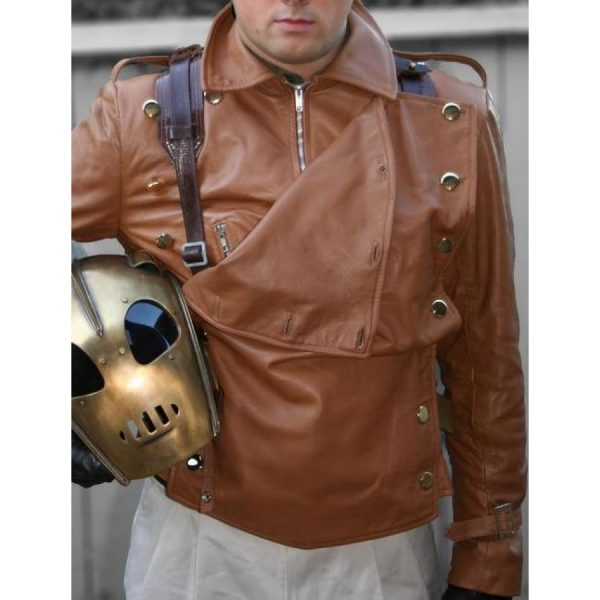Bill Clifford The Rocketeer Leather Jacket-0