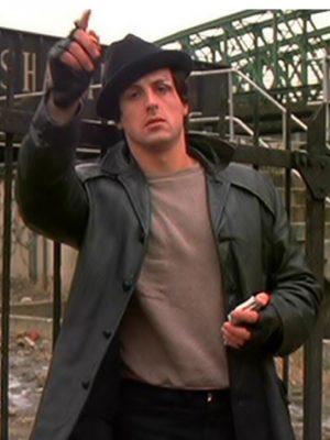 Rocky Balboa Leather Jacket-0