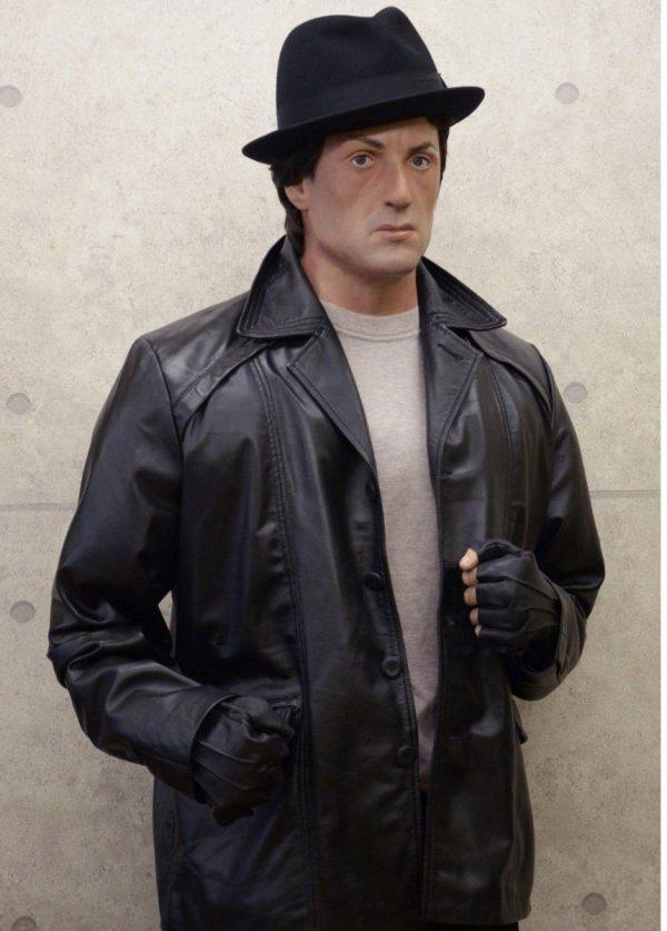 Rocky Balboa Black Jacket